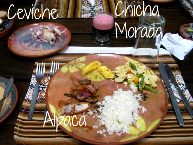 Foods and Drinks of Cusco, Peru