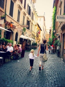 So many cute streets in Rome!