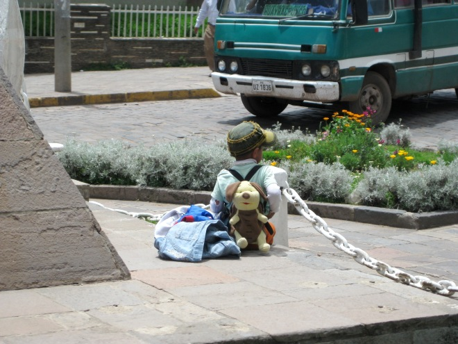 Boy in Cusco, Peru