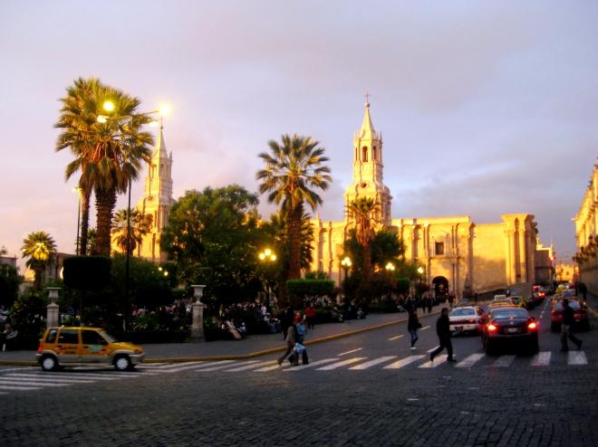 Arequipa Peru, the White City